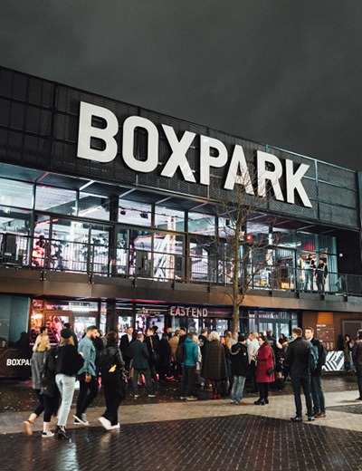 BOXPARK, Wembley - Stace