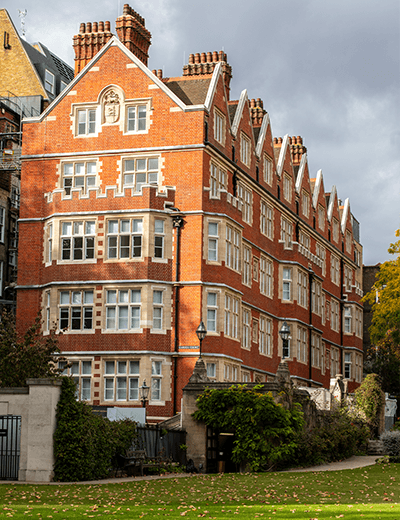 1-2 Garden Court and Blackstone House - Stace