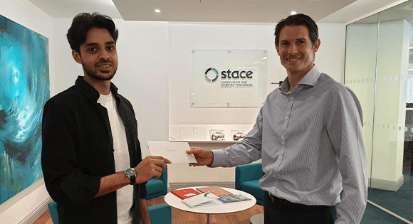 UCL student receives prize from Mark